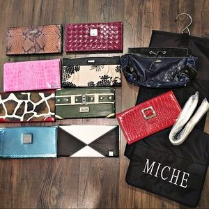 Miche Shell Skins Bundle Hanging Case And Straps